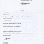 DJUKE International Champion Certificate