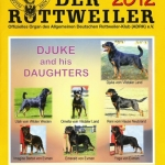 Djuke and Daughters 2012 Der Rottweiler Cover