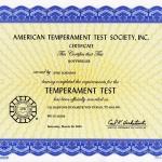 Dynamite Temperament Test
